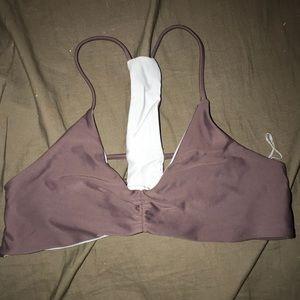 Tillys reversible bikini top